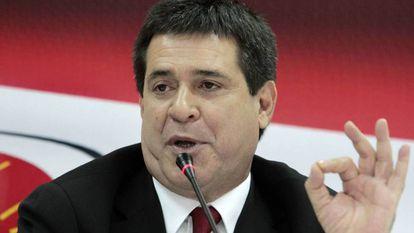 O presidente paraguaio, Horacio Cartes, em 2013.