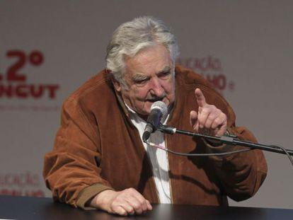 O ex-presidente Mujica, em foto de arquivo.