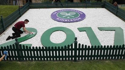 Torneio de Wimbledon.