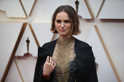 Natalie Portman, no tapete vermelho do Oscar, em Los Angeles, em fevereiro deste ano.
