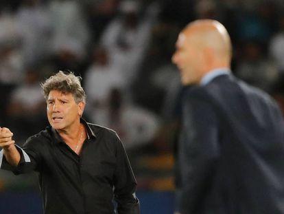 Técnico do Grêmio, Renato Gaúcho, na final do Mundial de Clubes em Abu Dhabi.
