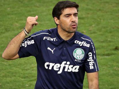 O treinador português Abel Ferreira conduziu o Palmeiras à final da Libertadores.