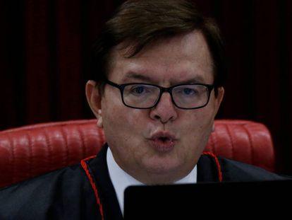 O relator da ação contra o TSE, Herman Benjamin.