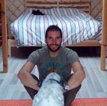 O espanhol Hugo Calavia Blanco, morto em Salvador.