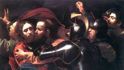 'A captura de Cristo', de Caravaggio.