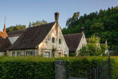 Hotel-fazenda Kartause Ittingen, em Warth (Suíça).