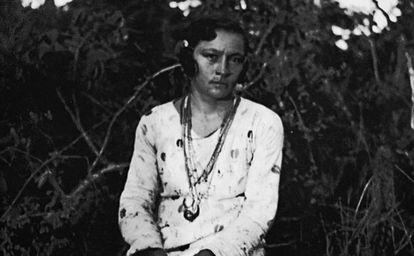 Maria Bonita, retratada por Benjamin Abrahão.