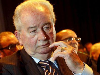 Julio Grondona, morto em 2014, ex-presidente da Associação do Futebol Argentino