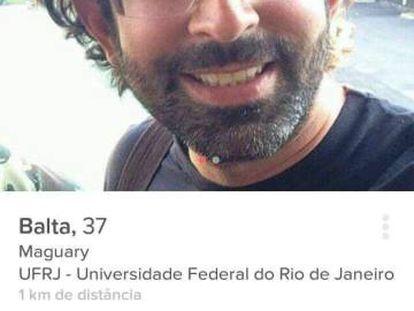 Imagem do perfil no Tinder de Wilian Botelho.