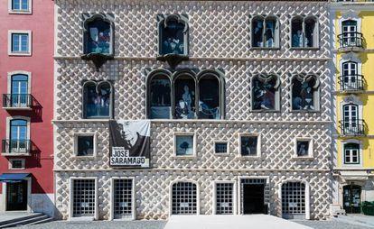 A Casa dos Bicos, em Lisboa, sede da Fundação José Saramago.