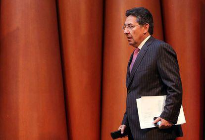 O promotor geral de Colômbia, Néstor Humberto Martínez.