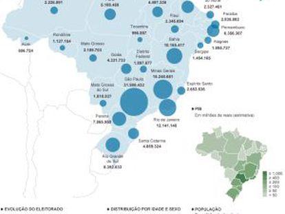 PSDB se reelege em São Paulo, e PT vence na terra de Aécio Neves