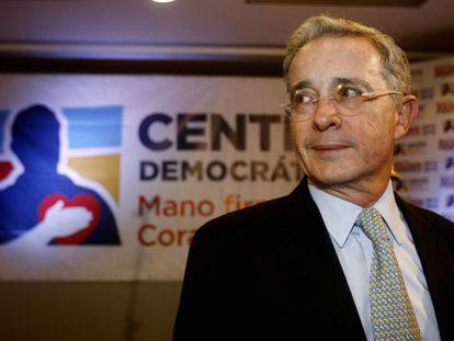 O ex-presidente colombiano Álvaro Uribe.