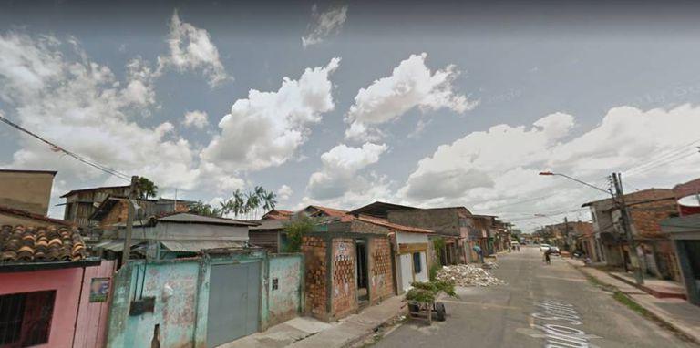 Uma das ruas do bairro Terra Firme, na periferia de Belém.