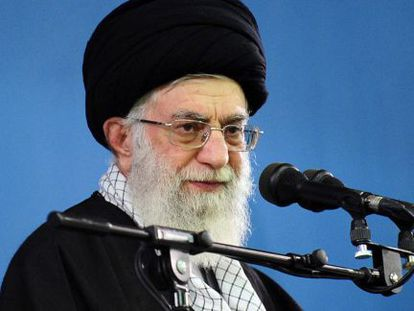 O líder supremo iraniano, Ali Jamanei, no último dia 8 de fevereiro.