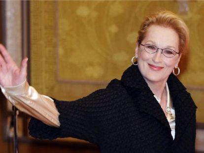 A atriz Meryl Streep.
