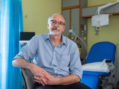 O professor Andrew Pollard, diretor do Grupo de Vacinas de Oxford, em uma imagem fornecida pela universidade.