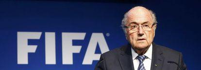 O ex-presidente da FIFA, Sepp Blatter.