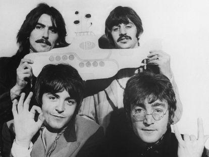 Os Beatles, em 1968.