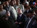 El líder opositor de Venezuela, Juan Guaidó, en Caracas, el pasado 28 de marzo.