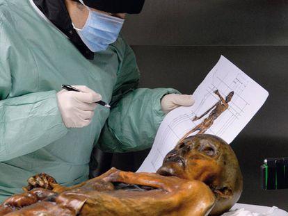 As tatuagens de Ötzi.