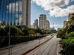 La avenida 23 de Maio de São Paulo.