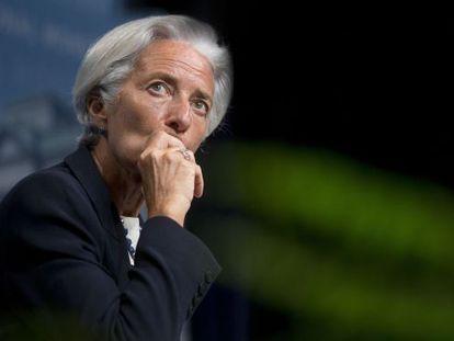 Christine Lagarde, no último mês de julho.