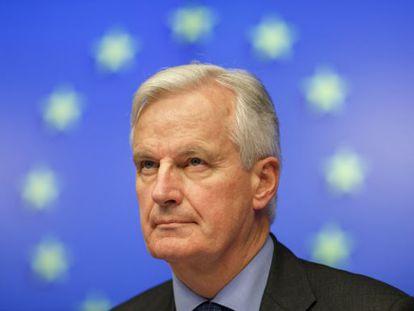 O comissário de mercado interior, Michel Barnier.
