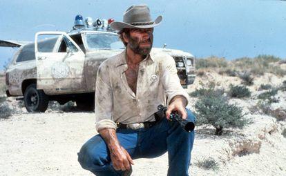 Um de seus papéis mais celebrados, em 'McQuade, o Lobo Solitário' (1983).