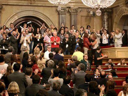 Parlamento catalão aprova a lei anti-homofobia.