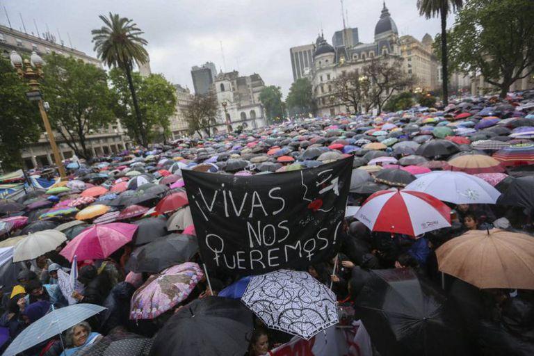 'Quarta-feira negra' contra a violência machista, em 19 de outubro.