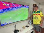 Foto postada na última vez que Bolsonaro tuítou sobre a Copa América, no dia 13 de junho.
