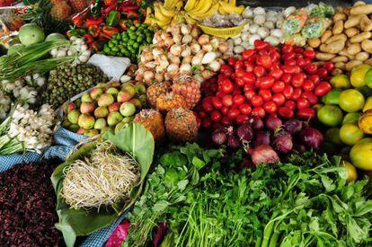 Frutas e verduras são os alimentos que mais se desperdiçam.