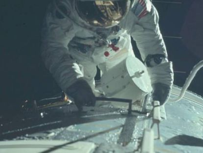Nasa disponibiliza na Internet todas as fotos do homem na Lua