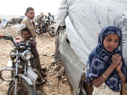 Khamer, a última parada para os deslocados no Iêmen