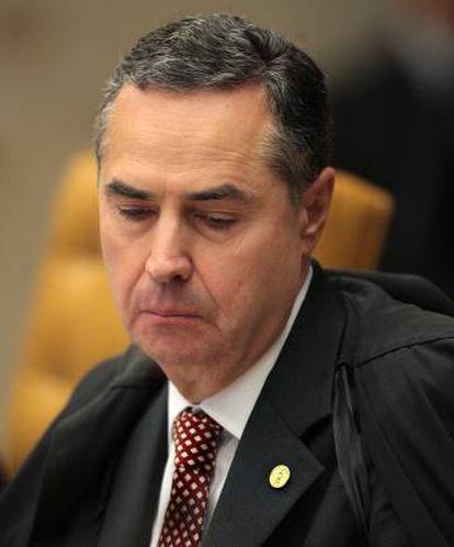 O ministro Luís Roberto Barroso, relator da ação no Supremo: maioria da Corte não acompanhou o voto do magistrado.