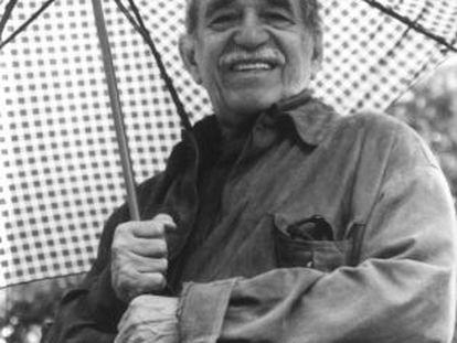 O Nobel colombiano Gabriel García Márquez.