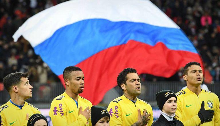 A seleção brasileira venceu a Rússia na última sexta-feira.