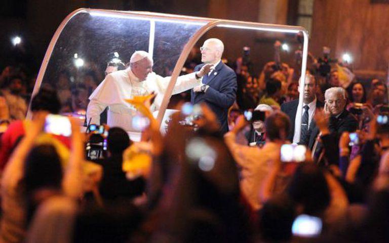O papa Francisco em Assunção.
