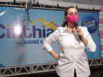 Cinthia Ribeiro, do PSDB, reeleita prefeita ainda no 1º turno em Palmas.