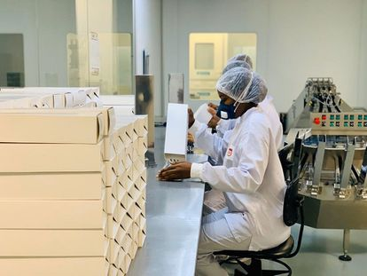 Laboratório do Exército (LQFEx) ampliou a produção de cloroquina na pandemia.