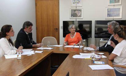 Reunião da Comissão Nacional para Erradicação do Trabalho Escravo em janeiro de 2015.