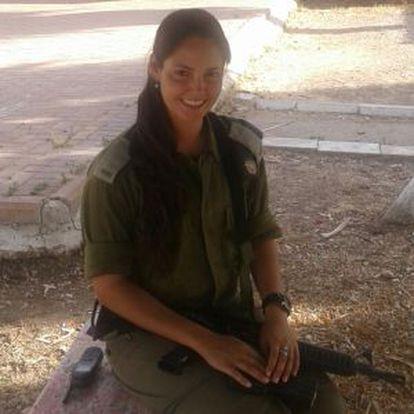 A tenente israelense Eden Ben Ami.