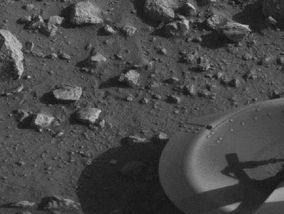 Esta foi a primeira foto tirada de Marte há 40 anos