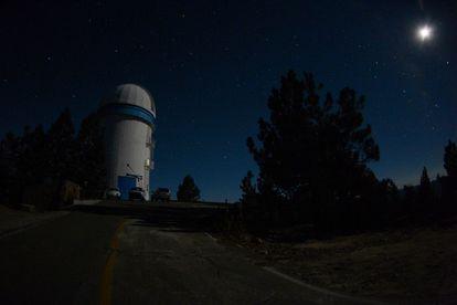 O observatório astronômico de San Pedro Mártir, na região da Baixa Califórnia, no México