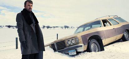 O ator norte-americano Billy Bob Thornton, na série 'Fargo'.