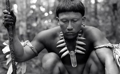 O índio Karamakate, de 'O abraço da serpente'.