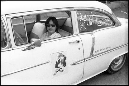 O músico Jackson Browne, em 1974.