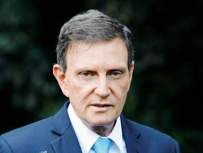 O prefeito do Rio de Janeiro, Marcelo Crivella, em agosto de 2019.