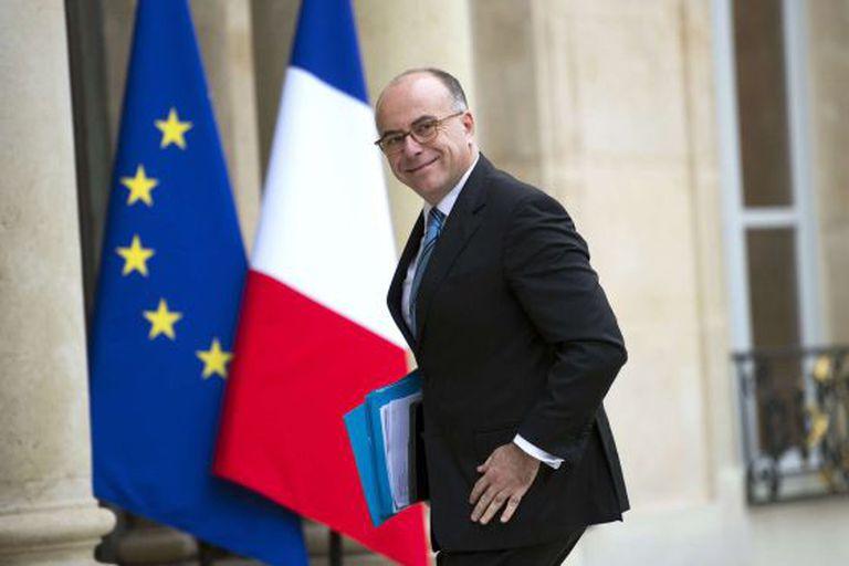 O ministro da Fazenda, Bernard Cazeneuve, em outubro.